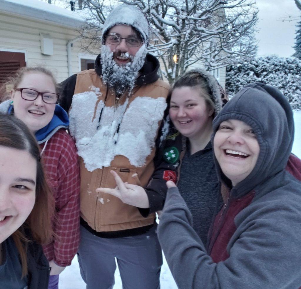 CSA Staff_Snow storm 2019